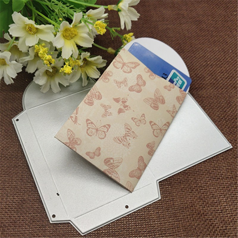 Box Metal Cutting Dies Stencils Embossing Craft DIY Gift Box Die Cut Card Scrapbooking Dies Metal Paper Cards Album Decoration