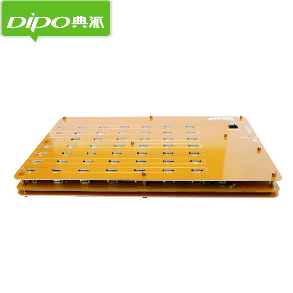 DIPO 2 4 7 10 16 19 20 49 Port USB-Hub USB 2.0 Hub-Ports für - Computer-Peripheriegeräte - Foto 5