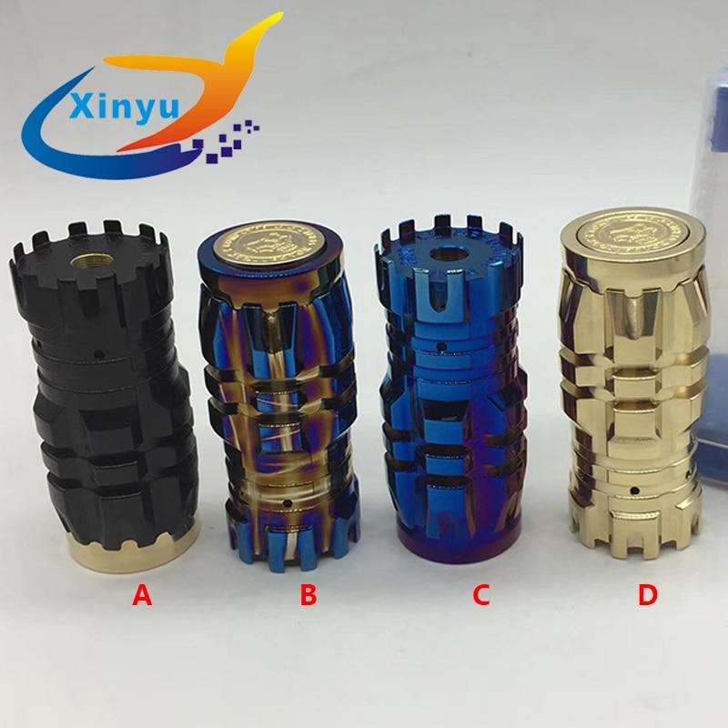 HOT Predator Mini Mod CompLyfe 18350 Battery brass Body