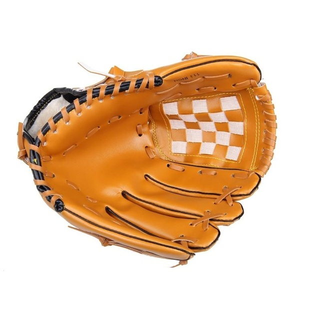 Right hand Male Baseball Glove Female Professional Glove Left Hand Outdoor Sports Racing Gloves Child10.5/Teenage11.5/Adult12.5 4