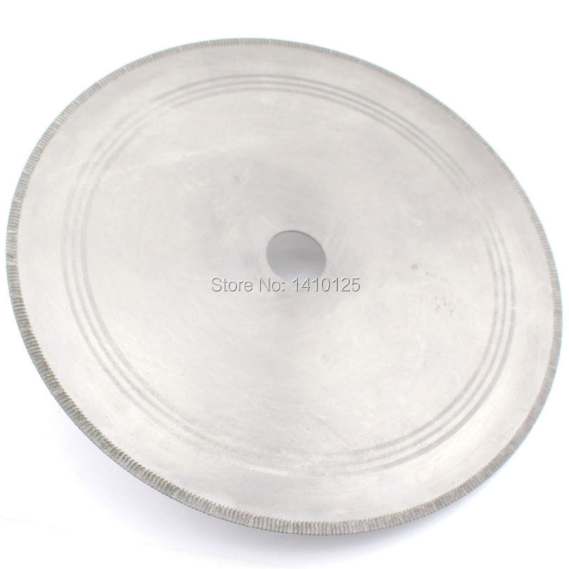 14 inch Notched Rim Thickness 0.08 Lapidary Diamond Saw Blade Rock Slab with Bushing 3/4 5/8 for Agate Jasper Petrified Gems 96pcs 130mm scroll saw blade 12 lots jig cutting wood metal spiral teeth 1 8 12pcs lots 8 96pcs