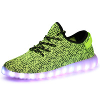 Led Shoes LED Light Casual Shoes Shoes Fashion Men Lighted Shoes for 2018 New Arrival Superstar Men