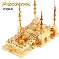 New Released Piececool The Heart Of Chechnya Mosque P060-G DIY Toy 3D Laser Cut Models Soldier Puzzle Toys