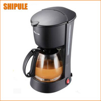 High quality Automatic Electric Coffee Maker White Drip Coffee Machine With Water Window