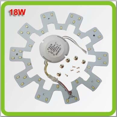 PRODEM 120 В 220 В 230 В 240 В Dia225mm 1800lm 18 Вт светодиодные фонари светодиодные круглые световые кольца LED заменить 40 Вт старые люминесцентные лампы