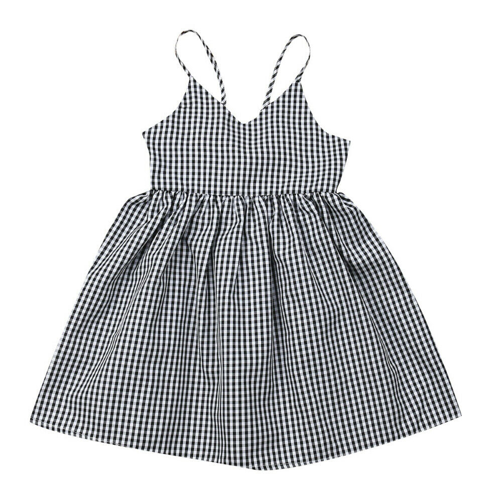 Newborn Kids Baby Girl Clothes Plaids Party Pageant Princess Tutu Dress SundressNewborn Kids Baby Girl Clothes Plaids Party Pageant Princess Tutu Dress Sundress