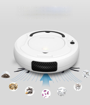 -1800Pa robot vacuum cleaner Multifunctional Smart Floor Cleaner,3-In-1 Auto Rechargeable Dry Wet Sweeping cleaner