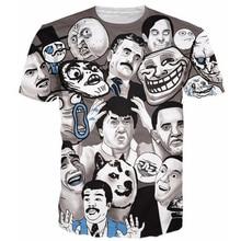 2017 Summer T-Shirt Men Women Funny t shirts Memes Of The Internet Tees Harajuku Tee Shirts Humorous Emoji t shirt Tops R2296