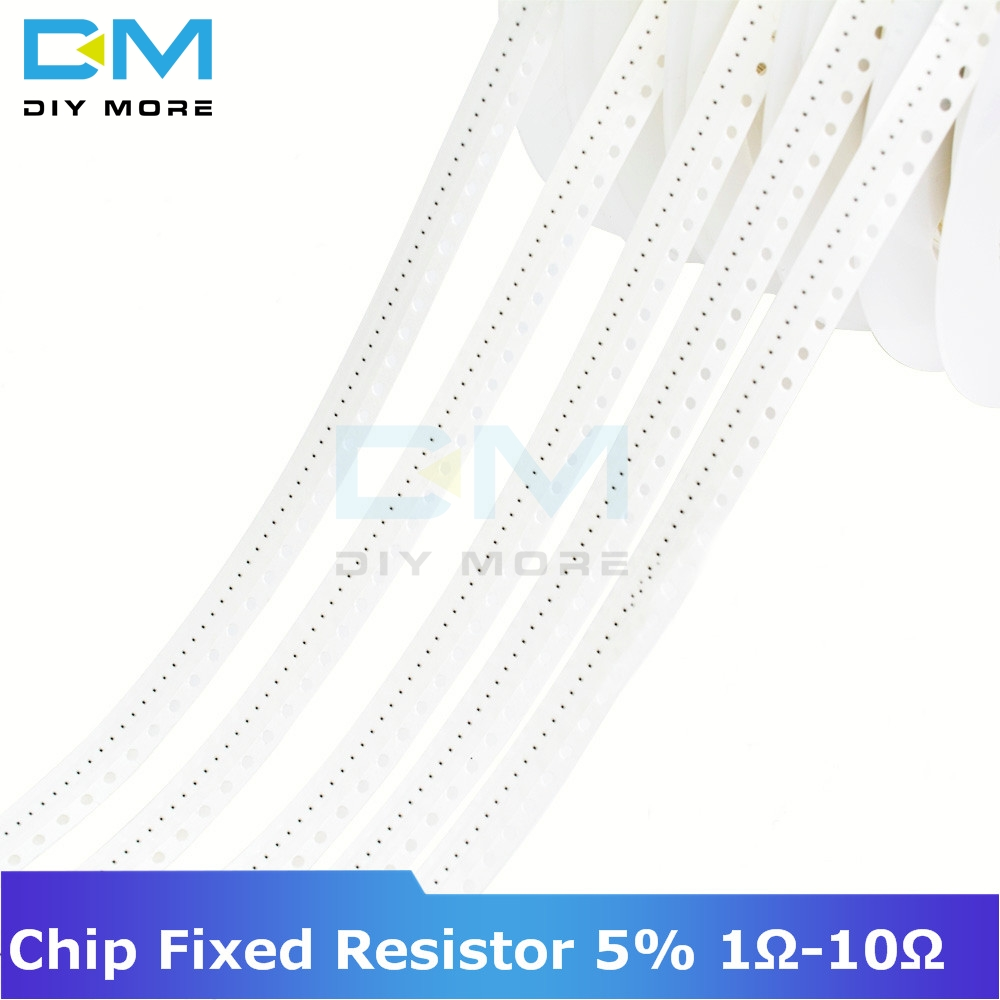 1700pcs Chip Fixed <font><b>Resistor</b></font> SMD0201 SMD0402 SMD0603 SMD0805 SMD1206 1ohm-<font><b>10Mohm</b></font> <font><b>Resistor</b></font> Assorted Kit Diy Electronic Thick Film image