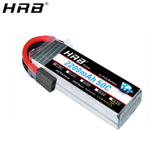 HRB 7.4V 2200mah Lipo Battery TRX 2S XT60 50C T Deans JST RC Parts For Traxxas Summit Slash VXL 1/16 4WD Monster Cars Airplanes
