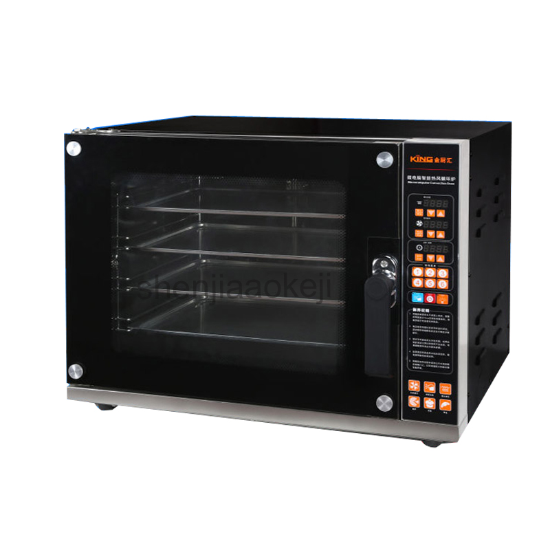 цена на Electric Oven for Bread/Pizza Commercial Bakery Oven Baking Oven Bakery Machine CK02C Multifunctional oven 220-240v 4500w 1pc