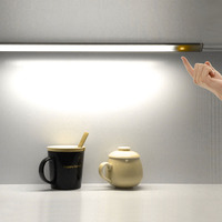 GT Lite LED Touch Sensor Kitchen Cabinet Light Lamp Wardrobe Closet Showcase Bookshelf White USB Lamp