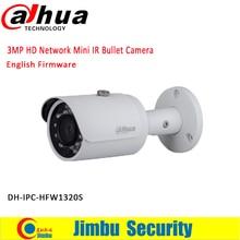 Original DAHUA 3MP IP camera Bullet IR 30M 1080P Waterproof outdoor full HD POE CCTV Network camera IPC-HFW1320S