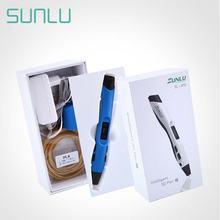 Sunlu sl 300 3d Ручка для детей Исследуйте мозги Печатающая