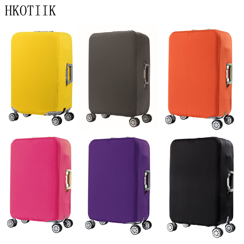 HKOTIIK suitcase case travel trolley suitcase protective cover for S / M / L / XL/ 18-32 inch travel accessories luggage cover