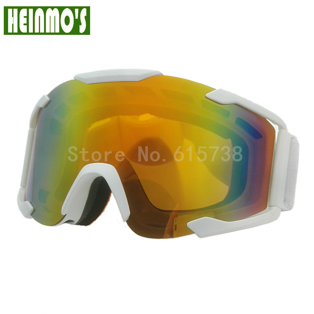 c0c8e739fa589 Cor da lente goggle off road motocross óculos de proteção óculos óculos de  proteção da motocicleta da bicicleta da sujeira de corrida google