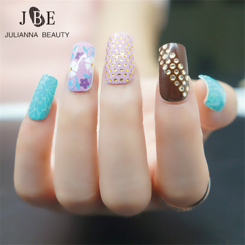 Summer 3D New Nail Art Sticker Fashion Women Design Full Cover ...