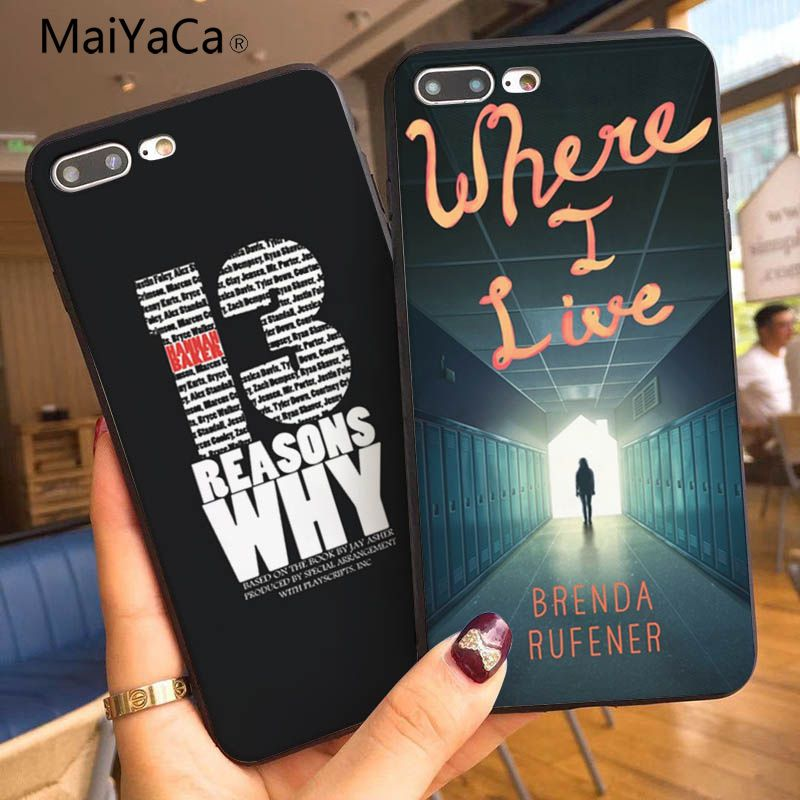 MaiYaCa Cool <font><b>13</b></font> Thirteen <font><b>Reasons</b></font> <font><b>Why</b></font> New Personalized print <font><b>Phone</b></font> <font><b>Case</b></font> For Apple iphone 7 7plus X 8 8plus 6s 6 6plus 5 5s 5c image