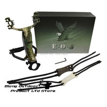 FREE SHIPPING Eagle of Sniper G7 Camo Slingshot Wrist Catapult Sling Shot For Hunting&Shooting