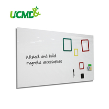 Whiteboard Sticker with Self-adhesive 100 x 50 cm x 0.6 mm Dry Wipe Ferro-magnetic Whiteboard Hold Magnets