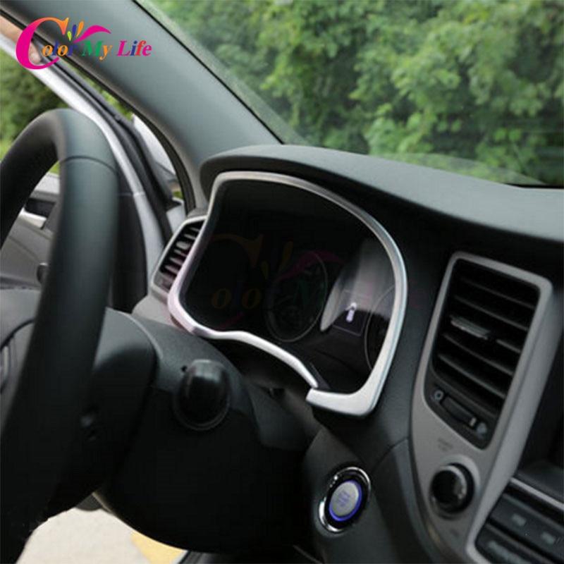 4Pcs / komplekt ABS auto instrumentaatori mõõtepaneelide kaaneplekk - Auto salongi tarvikud - Foto 3