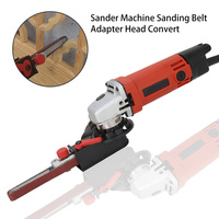 DIY Sander Sanding Belt Adapter For 110mm 4inch Electric Angle Grinder With M10 Thread Spindle For