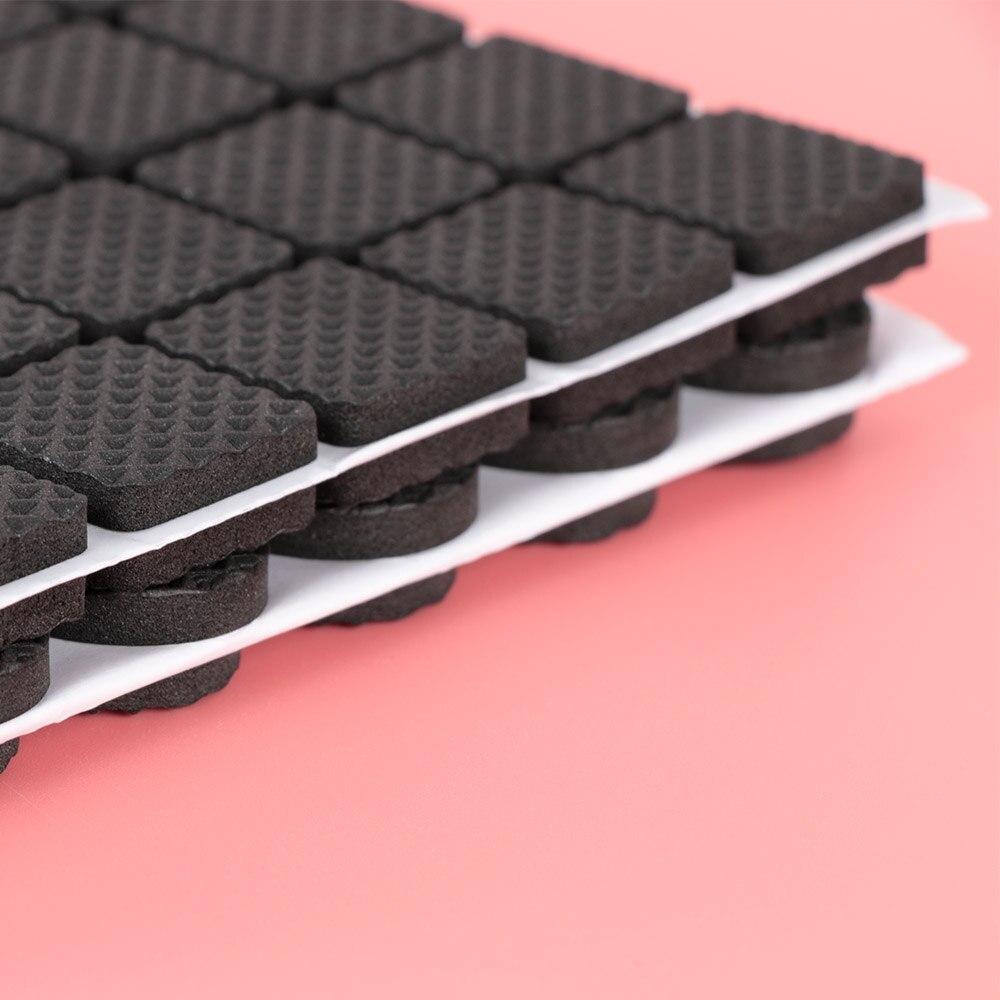 48 шт напольные протекторы коврик нескользящий самоклеющийся мебельный резиновый коврик для ног стол стул круглый липкий коврик для ног дивана стула