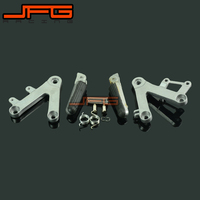 Footrests Front Foot Pegs Pedals Rest Footpegs For HONDA CBR400 NC29 1990 1997 90 91 92 93 94 95 96 97 Motorcycle