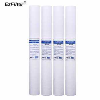 20-inch PPF COTTON FILTER 1 Micron PP Sediment Water Filter Cartridge For REVERSE OSMOSIS Commercial Water Purifier - DISCOUNT ITEM  0% OFF All Category