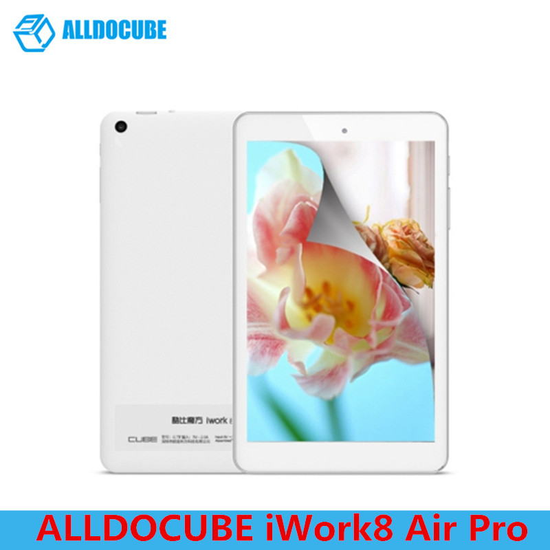 ALLDOCUBE IWork8 Air Pro 8.0'' Tablet PC Windows 10 Android 5.1 Intel Cherry Quad Core 1.44GHz 2GB 32GB ROM HDMI OTG Cameras wintel w8 mini pc windows 10 android 4 4 intel quad core 2gb 32gb hdmi