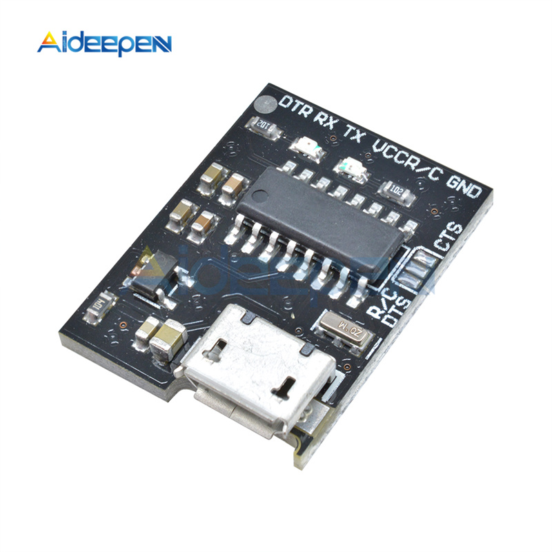 For WEMOS CH340G CH340 Breakout 5V 3.3V Micro USB to Serial Module Board Switch For Arduino Downloader Pro Mini