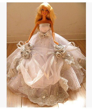 Autonomous design handmade Items For Women Doll Equipment Night Swimsuit Marriage ceremony Gown Garments For Barbie 1:6 Doll BBI0084