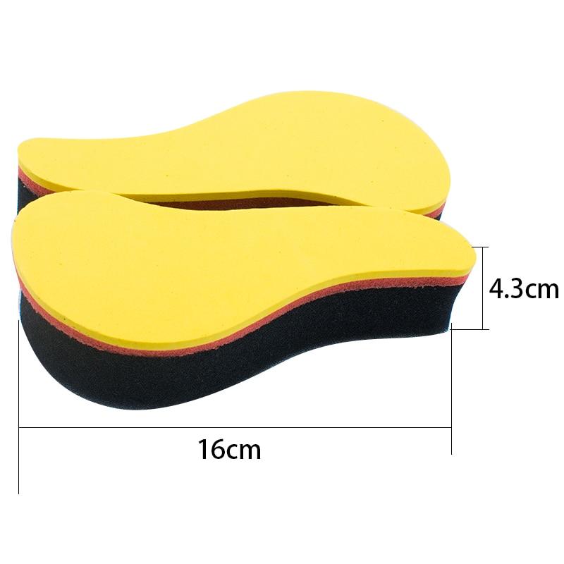 ヾ ノ2pcs Foam Hair Brush Sponge ̿̿̿ ̪ Comb Comb