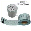 Laminado fita 99012 compatível fita de etiquetas Dymo Dymo impressora como 99010, 99011, 99013, 99014, 99015,99016 ( Freeshipping )