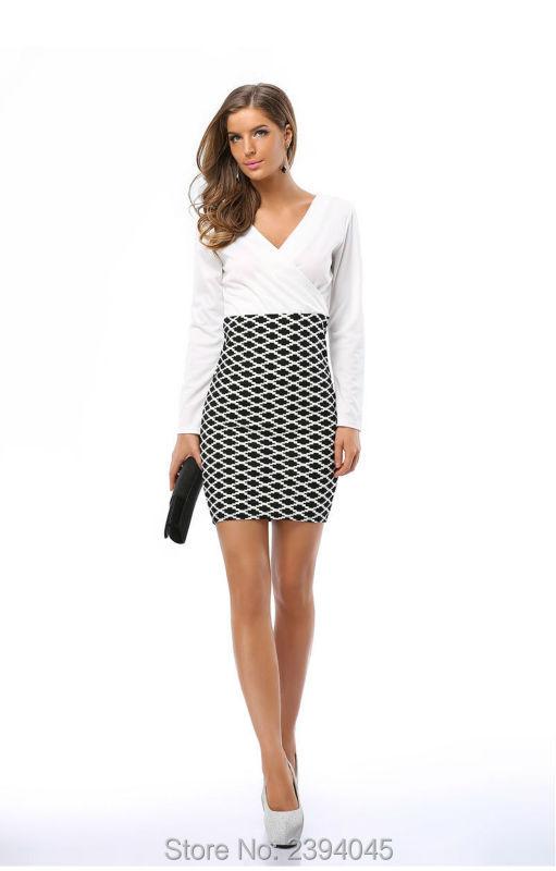ᗚEnvío Gratis nuevos diseños elegante vestido mujeres moda europea ...