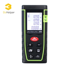 Big discount BeHelper Digital Laser Distance Meter 40M Handheld Rangefinder, Level Range Finder Area-volume Tape Measure Tools