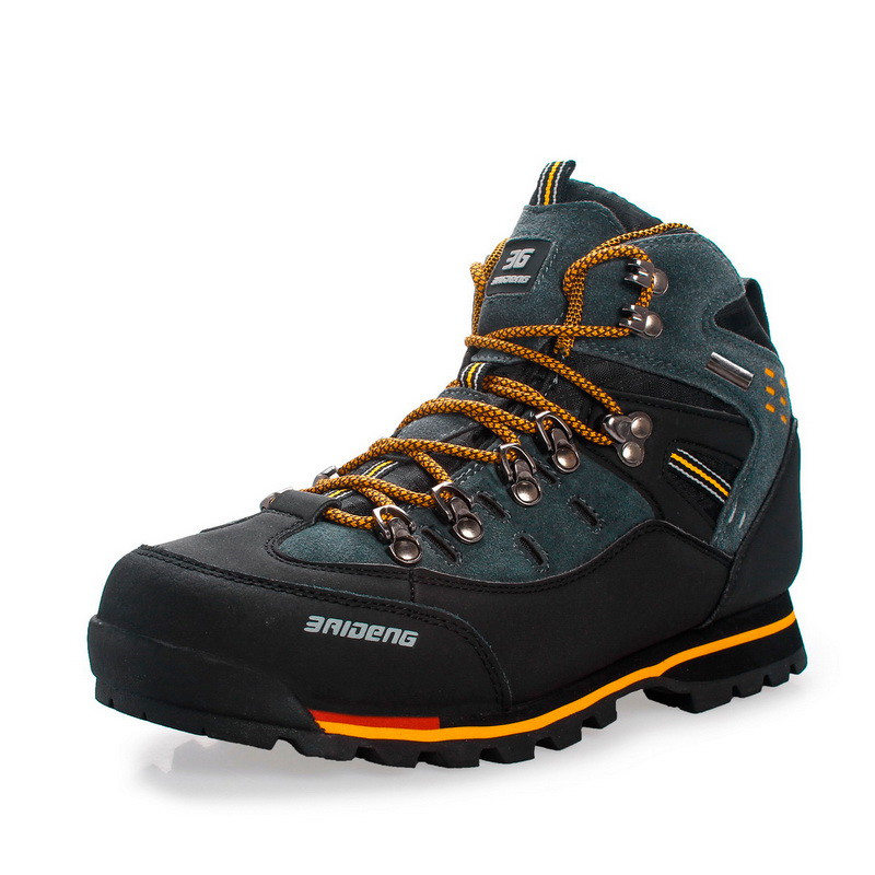 Men Boots Male Rubber Combat Ankle Work Safety Shoes Size 40 46 Autumn Winter Snow Boots