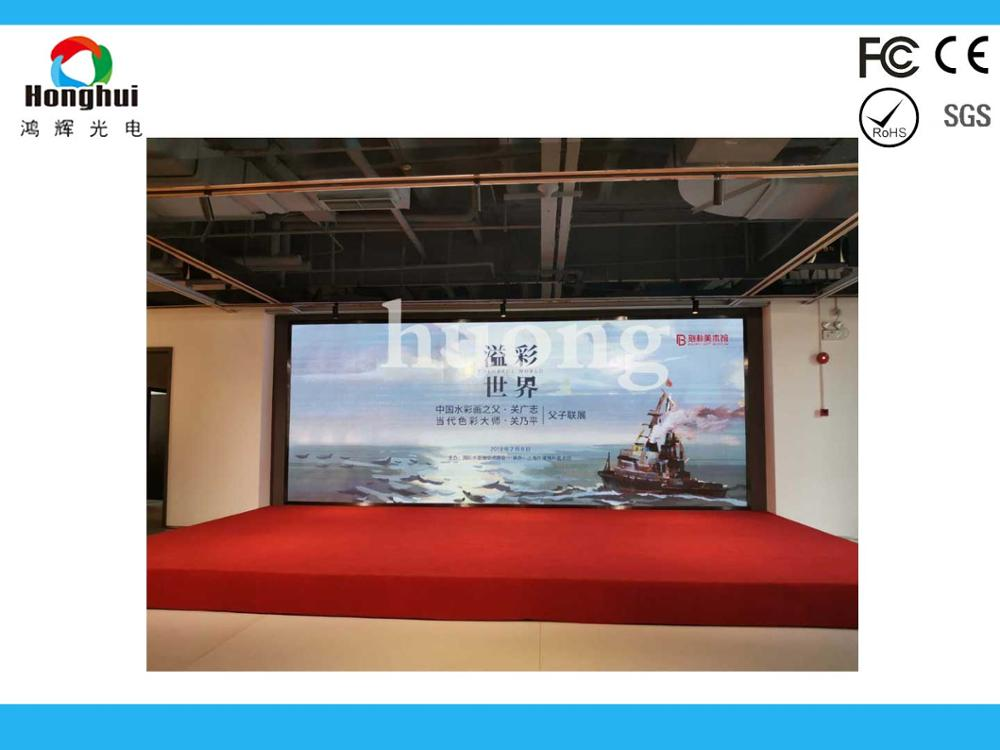 P2.5 Indoor led display High Definiation Full Color Led Display , Monitoring Room Big LED Screen TV image