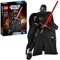 Bloques de Construcción de La Fuerza de Star Wars 7 Figuras Kylo Ren Despierta 87 unids Starwars Compatible Con Legoe Ladrillos Establece Modelos juguetes