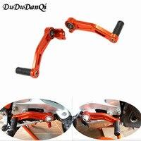 Motorbike CNC Aluminium Brake Clutch Gear Pedal Lever For KTM DUKE 125 200 390 2013 2014 2015