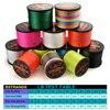 Amazing GHOTDA 8 Strands PE Braided Fishing Line Fishing Lines cb5feb1b7314637725a2e7: Black|Blue|Green|Grey|Multicolor|Orange|Pink|White|Yellow