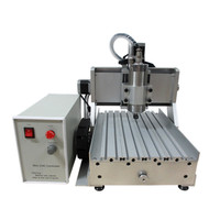 CNC engraving machine LY 3020 Z VFD 1.5KW 3 axis CNC router machine for wood metal aluminum carving and milling