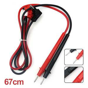 Multimeter Wire-Cable Digital Universal 1000V Needle-Tip Probe-Test-Pen 10A Lead 1-Pair