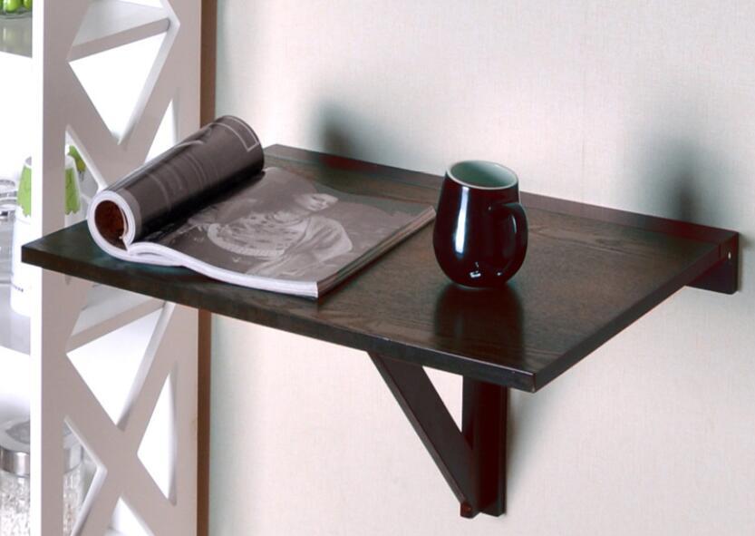 Table basse pliante de table de mur de bureau de suspension multifonctionnelle de 60*40 CM