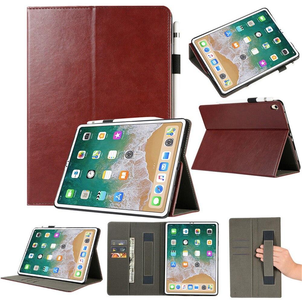 Новый для iPad Pro 12.9in 2018 выпуска кожаный бумажник Folio карты Стенд чехол 11,9