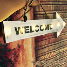 Welcome Sign in Home Decor