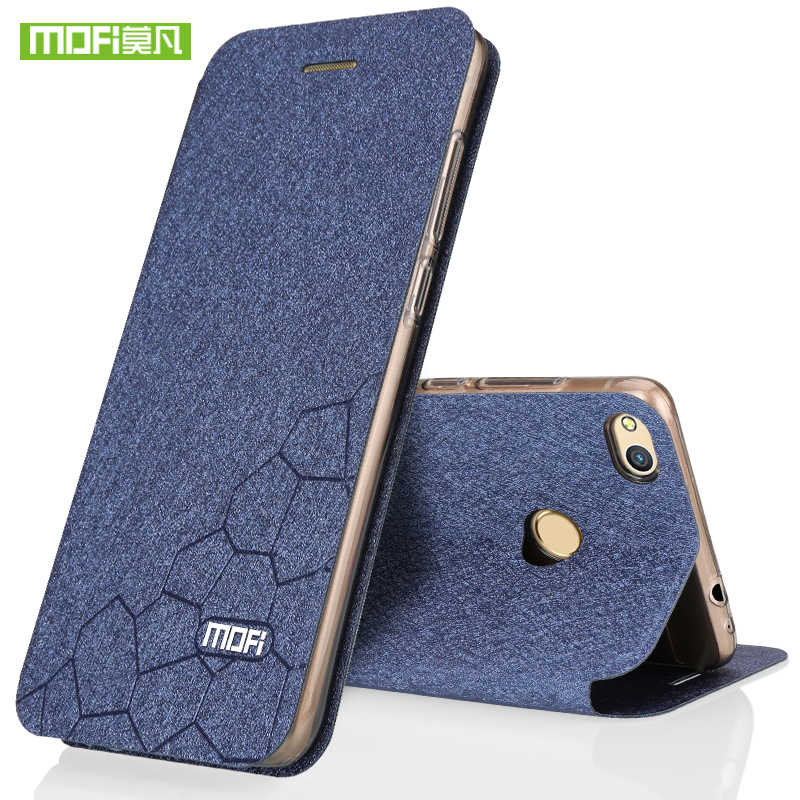 Huawei Honor 8 Lite case flip leather Mofi brand glitter Honor 8 case silicone back cover ultra thin TPU fundas 2017 wallet