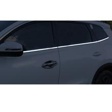 Lsrtw2017 Stainless Steel Car Window Trim Strip for Chery Tiggo 8 2018 2019 2020