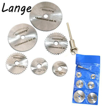 Lange 6 pieces HSS 22 /25 /32 /35 /44 /50mm saw blades for dremel ratory tools dremel tools dremel accessories A25