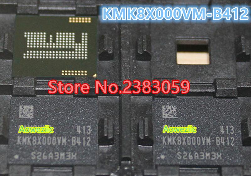 (1PCS) (2PCS) (5PCS) (10PCS)  100% New original  KMK8X000VM-B412  BGA   Memory chip   KMK8X000VM B412 1pcs 2pcs 5pcs 10pcs 100% new original kmr310001m b611 bga memory chip